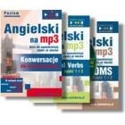 """Angielski dla zaawansowanych Pakiet mp3  """"Konwersacje dla zaawansowanych"""" + """"Phrasal verbs część 1 i 2"""" + """"Idioms część 1 i 2"""""""