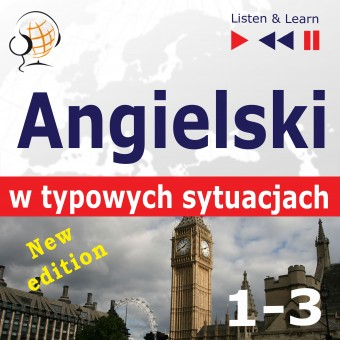 Angielski w typowych sytuacjach. New Edition. A Month in Brighton + Holiday Travels + Business English: (47 tematów na poziomie B1-B2)