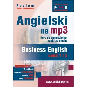 """Angielski na mp3 Pakiet """"Business English"""" część 1 + 2"""